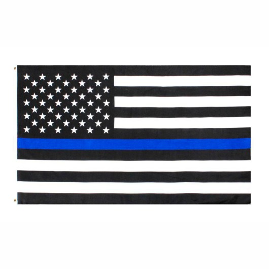 Thin Blue Line – Back the Blue flag