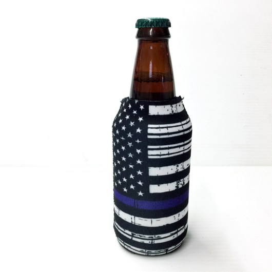Back the Blue Koozie