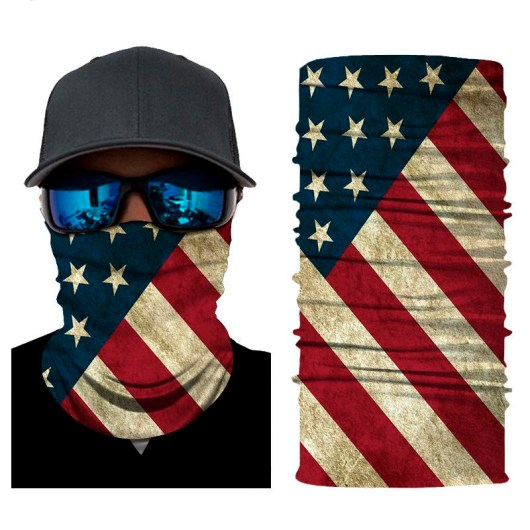 USA Flag Gaiter Mask