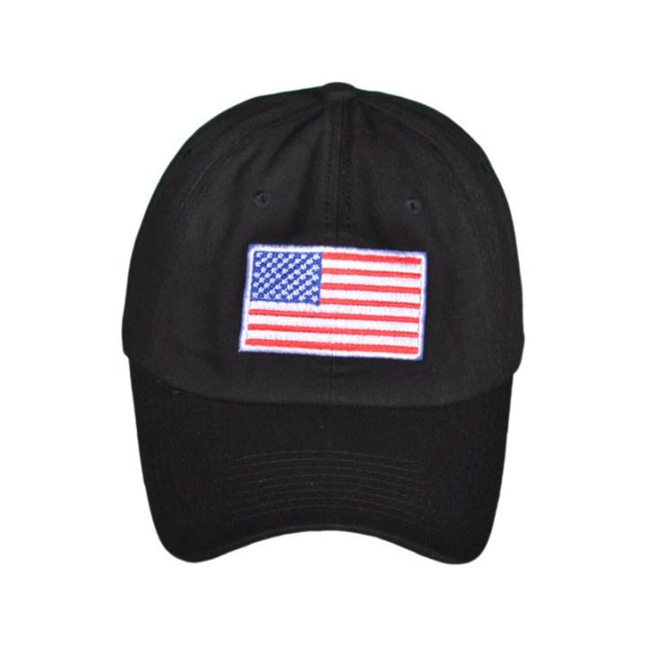 USA Dad Hat W/Flag