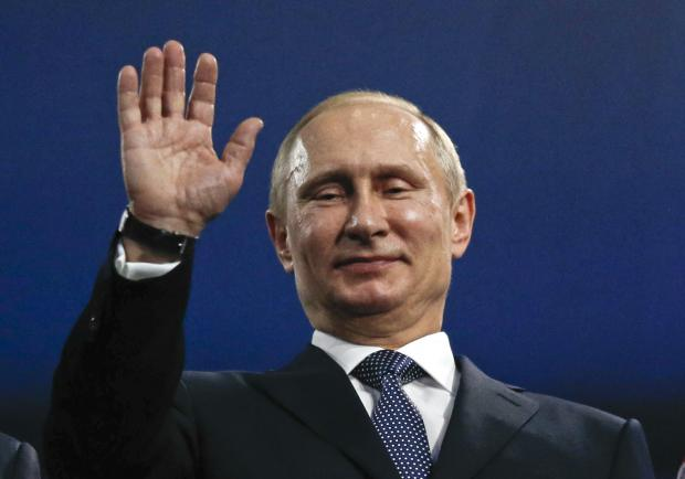 Путін. Фото:www.scmp.com