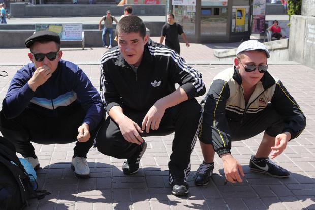 Пересічні росіяни. Фото: соцмережі.