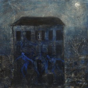 """6- """"The witching hour"""" – 27 x 27 cm - Acrylic on paper – 2011"""