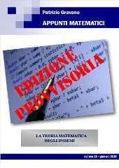 Appunti Matematici 13