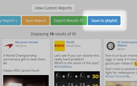 Exporta tus resultados de búsqueda a una playlist