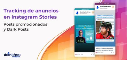 Tracking de anuncios en Instagram Stories