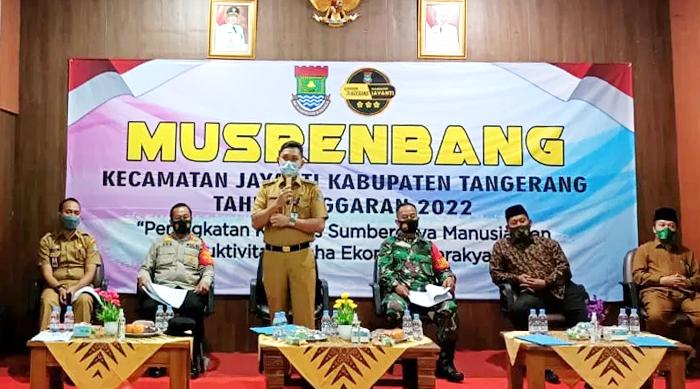 Tidak Dihadiri Anggota DPRD, Musrembang Kecamatan Jayanti TA 2022 Berjalan Lancar