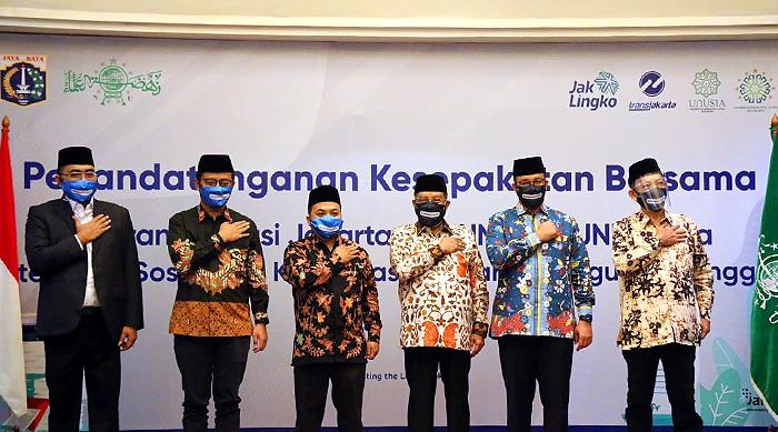 Gubernur DKI Jakarta Ingin Setiap Halte Ramah untuk Beribadah