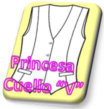 Chaleco Princesa V