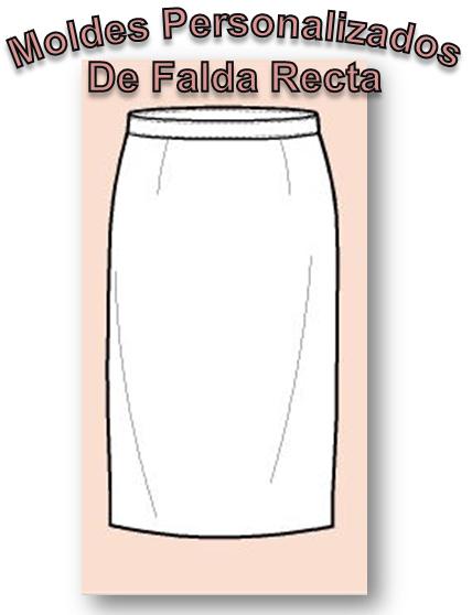 Personalizados Falda Recta