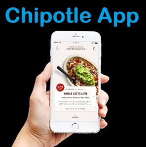 chipotle app for android & iOS