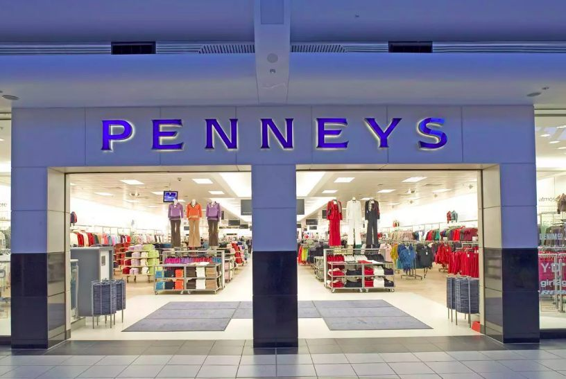 Penneys fashion store