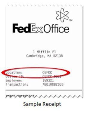 FedEx Receipt