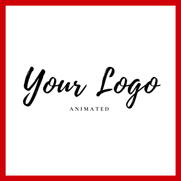 Your Logo Animated in Text