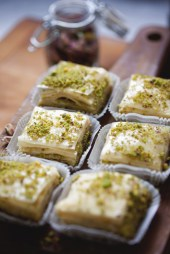 Middle Eastern culinary treats--so delicious and choices for everyone!