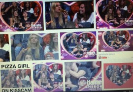 """If you haven't seen Pizza Girl in action, just Google """"Pizza Girl on Kiss Cam"""" and get in on the fun."""