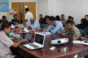 Kegiatan Focus Group Discussion terkait pengembangan industri kakao yang diselenggarakan oleh Balitbangda Prov. Sulawesi Barat, Kamis, 07 November 2019 di Mamuju