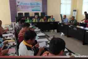 Rapat Pembahasan tata ruang wilayah Polewali Mandar