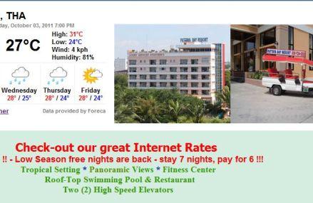 Pattaya Bay Resort anmeldelse