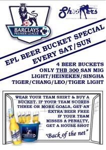 Shooters Pattaya - EPL Special