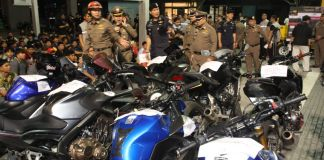 134 arrested, 120 illegally-modified motorcycles seized in Bangkok