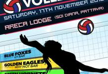 Ladyboy Water Volleyball Charity Fundraiser 2018