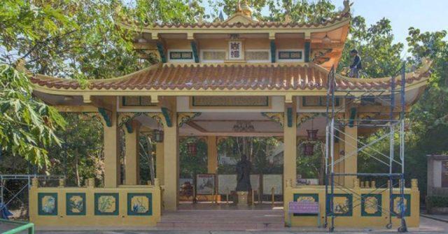 На холме Большого Будды в Паттайе демонтируют храм