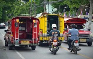 how to get around pattaya