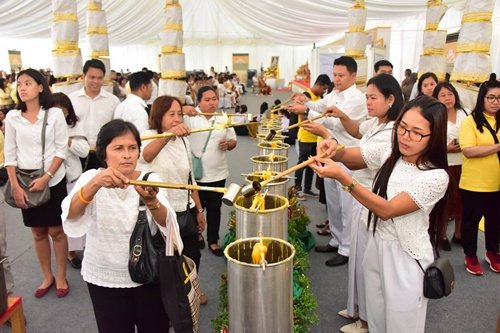 Buddhism Week for Asalha Bucha and Buddhist Lent 2018 taking place at Sanam Luang