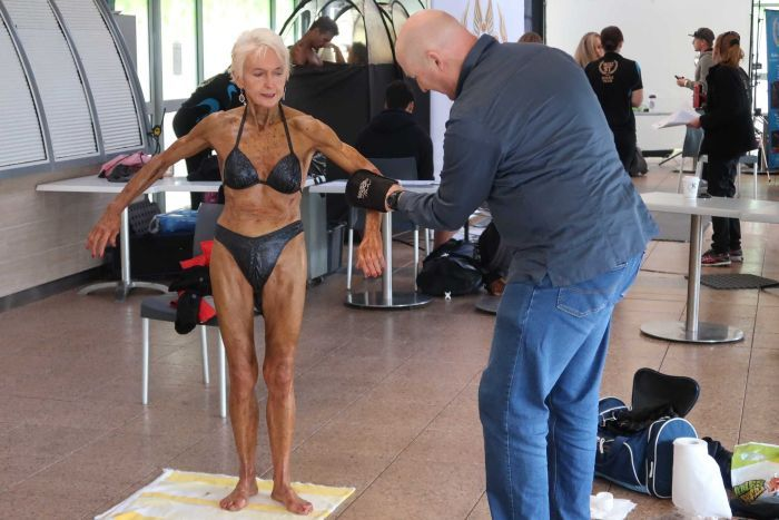 Bodybuilding Grandma, 75, Eats Strictly 'Nude Food Diet' To Keep In Shape
