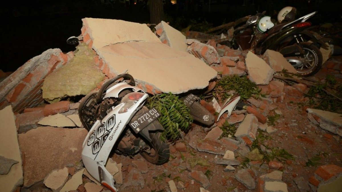 132 aftershocks recorded after 7-magnitude earthquake in Indonesia