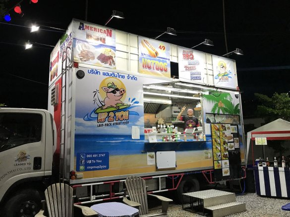 up 2 you food truck venue pattaya khao noi boonsampan restaurant american food pattayatoday news article