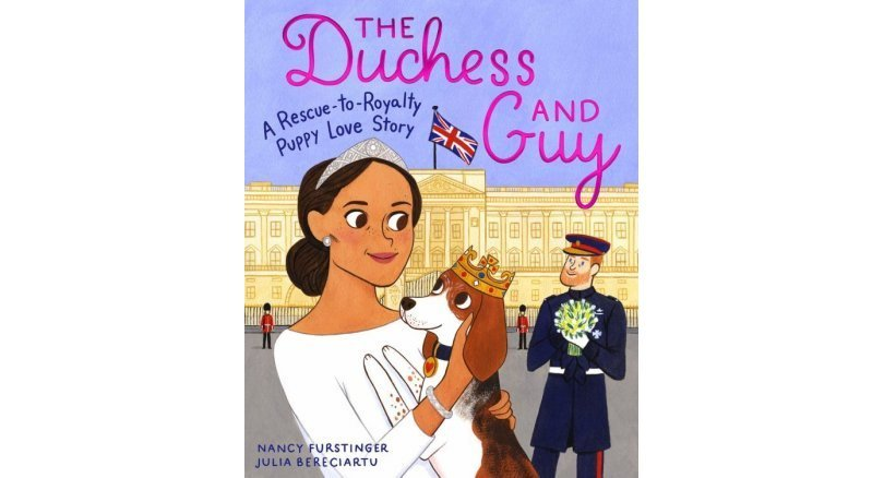 Duchess of Sussex's dog stars in children's books telling his life from rescue to royal