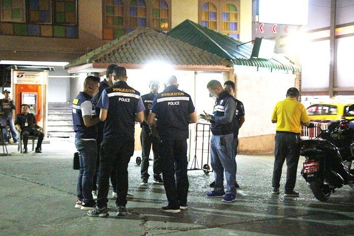 18 foreigners arrested in Walking Street immigration raid