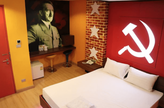 Bangkok sex hotel slammed for Nazi themed room