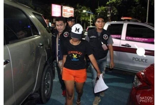 Pattaya woman arrested for selling 13-year-old for sex