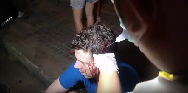 Video: Western tourist attacked and injured in Pattaya