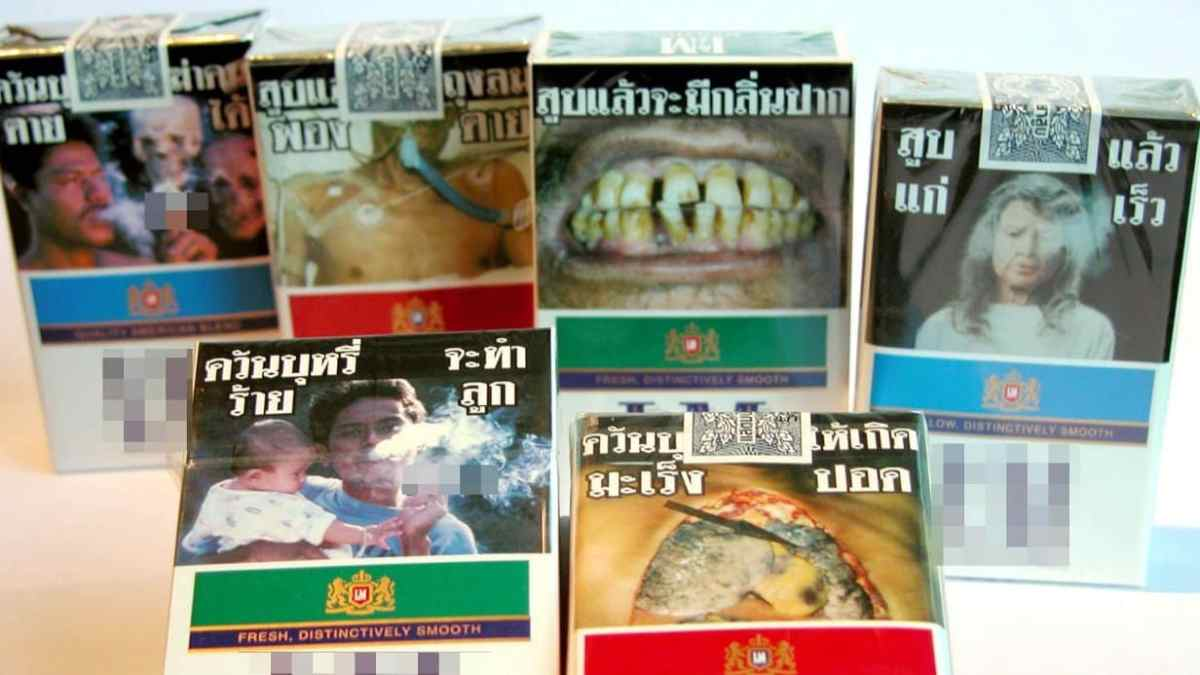 Plain packaging for cigarettes to be introduced in Thailand