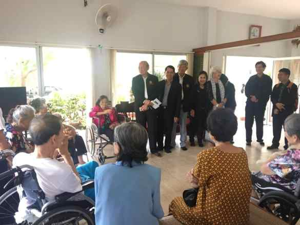 "Seniors benefiting from 'Time Bank' helpers. A ""Time Bank"" set up by the government's Department of Older Persons in mid-August has 120"