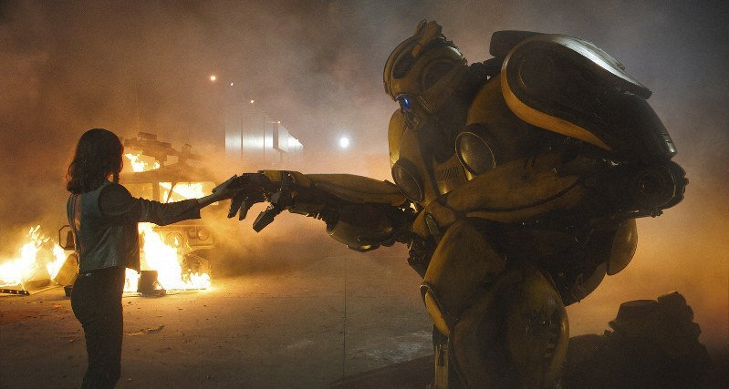 'TRANSFORMERS' GETS A GREAT SAVIOR IN 'BUMBLEBEE'