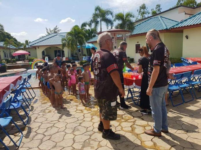 Bad Company Motorcycle Club holds Charity Event for Hand to Hand and children in need