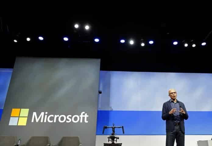 MICROSOFT OVERTAKES APPLE AS MOST VALUABLE PUBLIC COMPANY