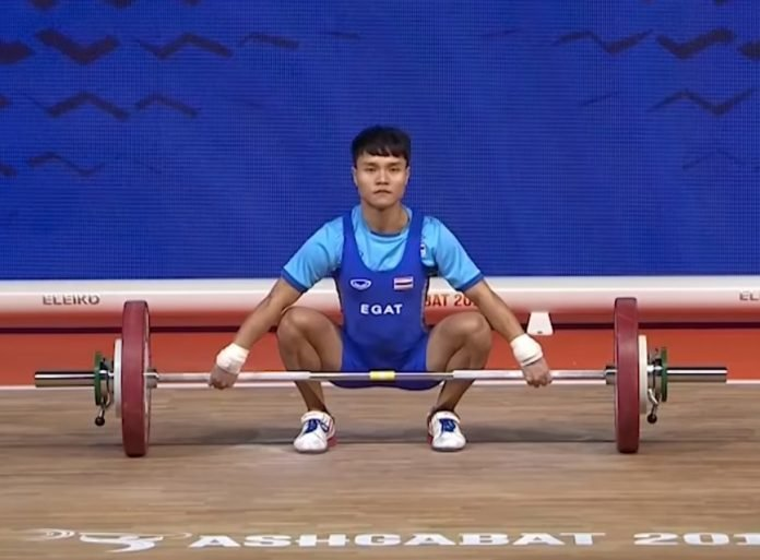 OLYMPIC CHAMP AMONG 4 THAI WEIGHTLIFTERS TO TEST POSITIVE
