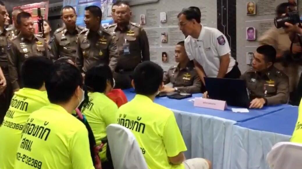 Chinese 'beggars' arrested across Bangkok