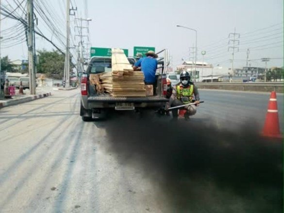 Over 3,000 vehicles in Bangkok inspected for black smoke. The Pollution Control Department (PCD) reported that more than 3,000 vehicles have been inspected
