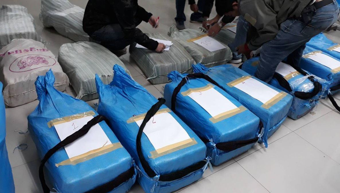 Second huge cache of meth seized in Chiang Rai