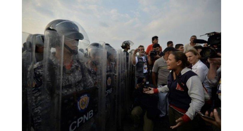 Two killed as Venezuela aid showdown turns violent
