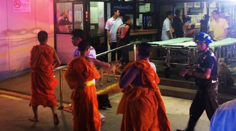 50 Novice Monks food poisoned after drinking milk