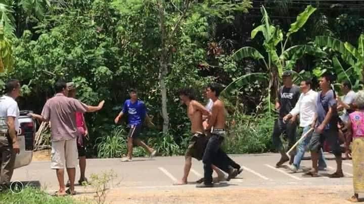 Thai Slasher Attacks 82 Year Old Woman