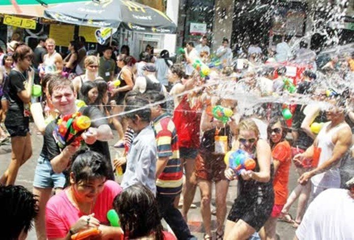 Three measures promoted for Thai traditional Songkran festival